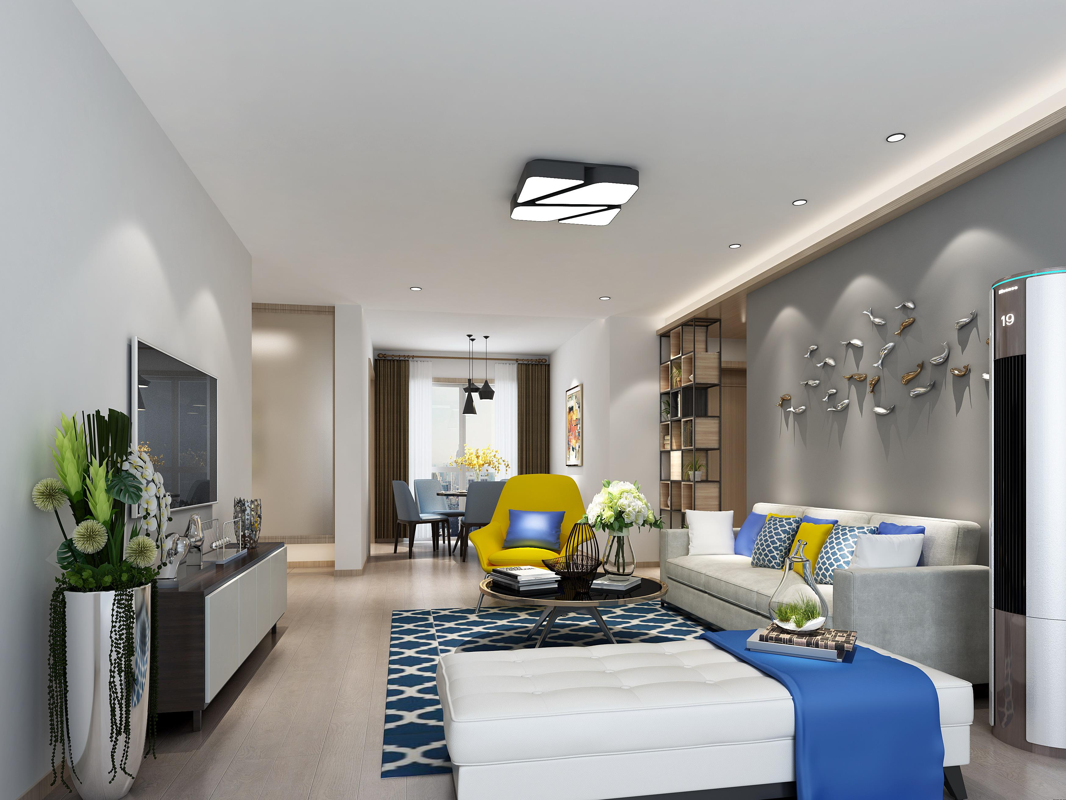 简约 小资 旧房改造 客厅图片来自敏空间在杨浦新凤城公寓的分享