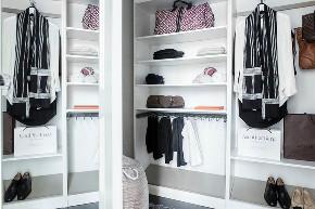 简约 二居 北欧 衣帽间图片来自言白设计在90平北欧小屋的分享
