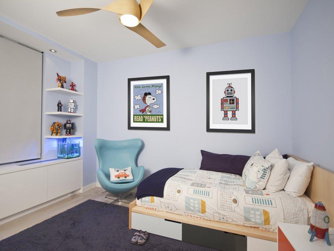 北欧 三居 大户型 复式 跃层 白领 80后 小资 卧室图片来自高度国际姚吉智在177平米北欧随性的自然风尚的分享