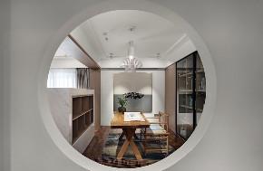 三居 中式 玄关图片来自言白设计在新中式的分享