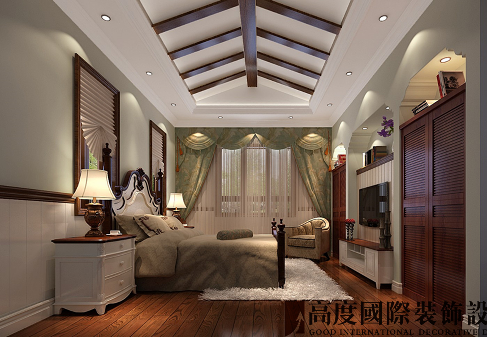 其他图片来自北京高度国际-陈玲在远洋傲北410平米托斯卡纳的分享