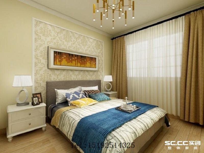 青岛 二手房 翻新 改造 榉林花园 卧室图片来自快乐彩在青岛二手房翻新二居室榉林花园的分享