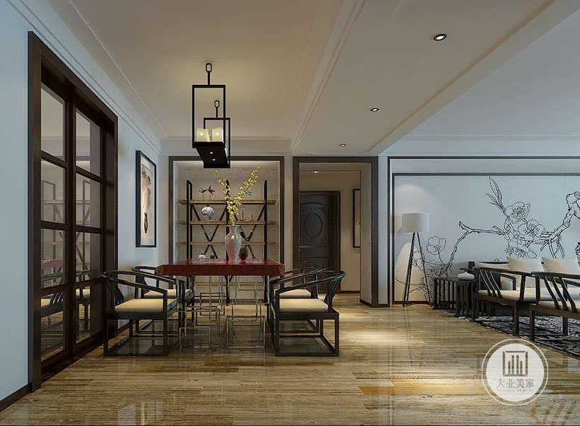 新中式 厨房图片来自大业美家 家居装饰在中冶德贤143新中式案例效果的分享