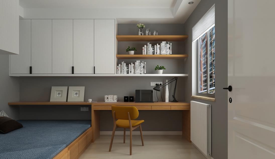 简约 三居 现代 儿童房图片来自言白设计在清雅逸景的分享