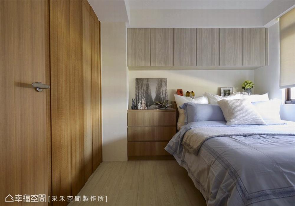 裝修风格 北欧风格 收纳 白领 80后 小资 卧室图片来自幸福空间在76平,小夫妻的甜蜜爱情小屋的分享