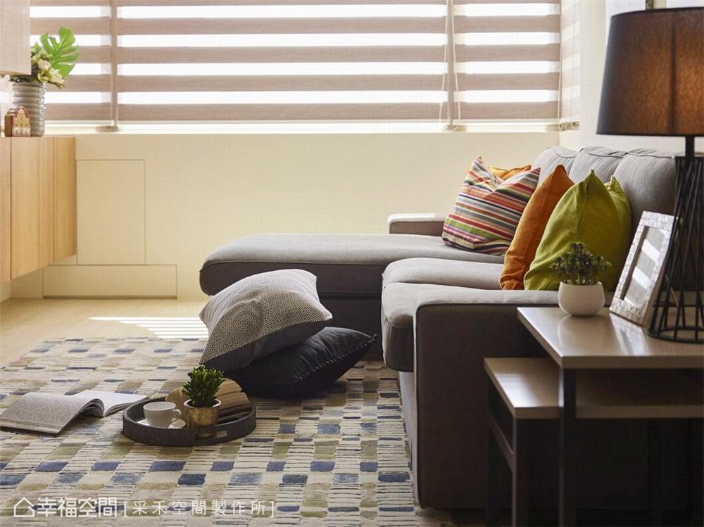 裝修风格 北欧风格 收纳 白领 80后 小资 客厅图片来自幸福空间在76平,小夫妻的甜蜜爱情小屋的分享
