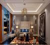 卧室采用柔和度较高的颜色,家具也选择舒适度很高同时兼具美感的物品。