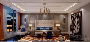 新古典 法式 别墅 跃层 复式 大户型 80后 小资 卧室图片来自高度国际姚吉智在天恒半山世家684㎡法式经典的分享