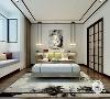 新中式风格在设计上延续了明清时期家居配饰理念,提炼了其中经典元素并加以简化和丰富,在家具形态上更加简洁清秀,同时又打破了传统中式空间布局中等级、尊卑等文化思想,空间配色上也更为轻松自然。
