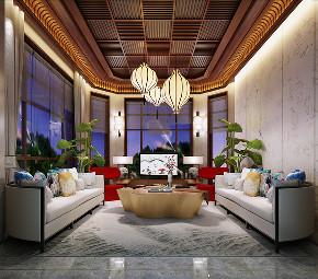 中式 别墅 跃层 复式 大户型 80后 小资 其他图片来自高度国际姚吉智在460平米新中式东方韵味轻奢范的分享