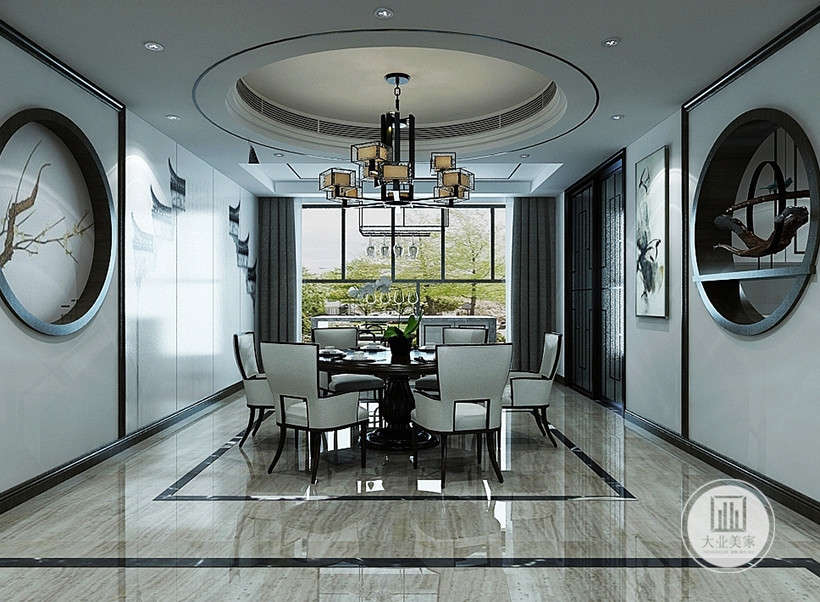 新中式 江南风格图片来自大业美家 家居装饰在风格推荐:全新的清奢江南风格的分享