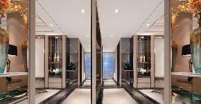 现代 美式 混搭 三居 大户型 复式 跃层 80后 小资 其他图片来自高度国际姚吉智在160平米现代美式混搭优雅情调的分享