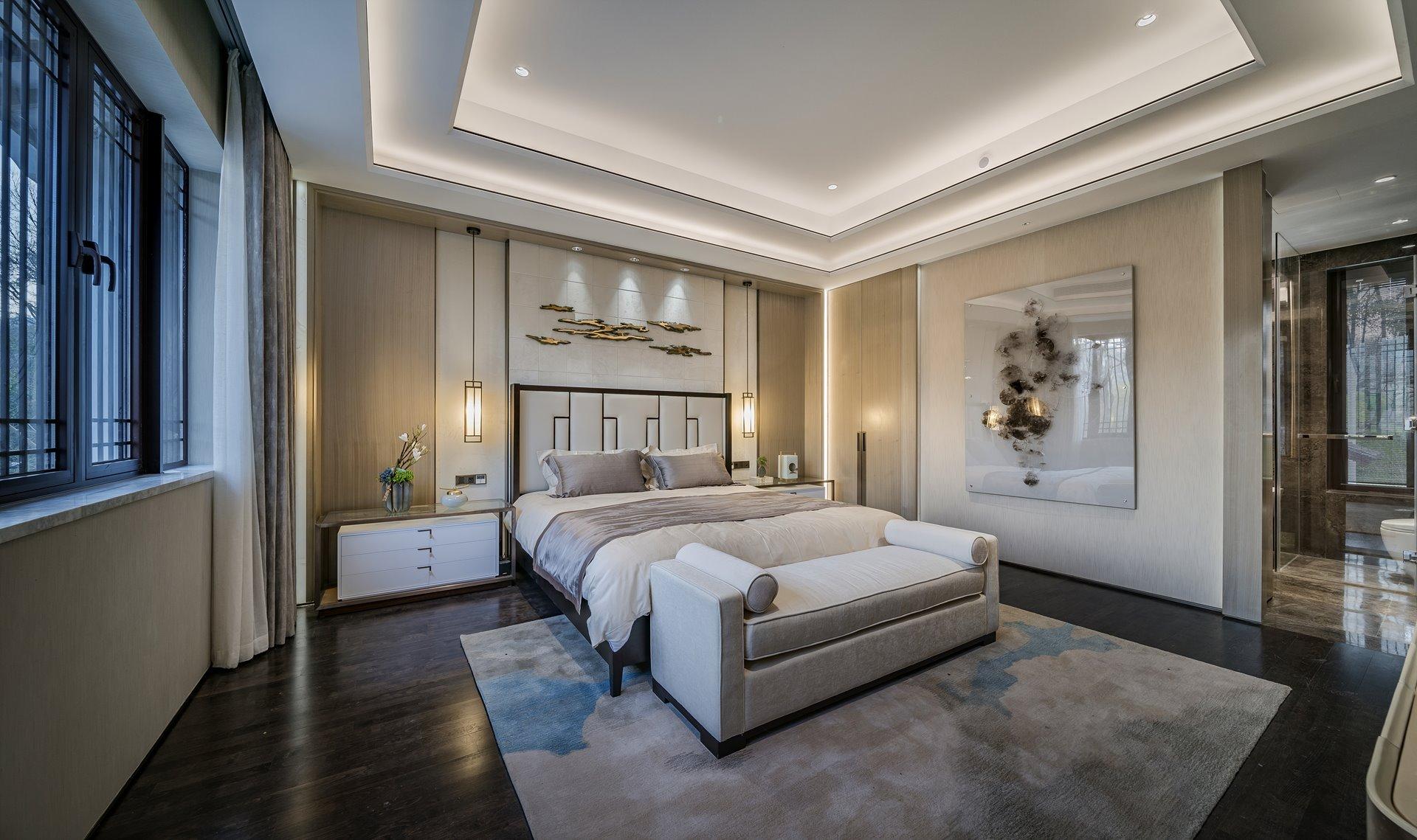 御翠园 别墅装修 新中式风格 腾龙设计 卫生间图片来自孔继民在中式风格设计方案展示案例展示的分享