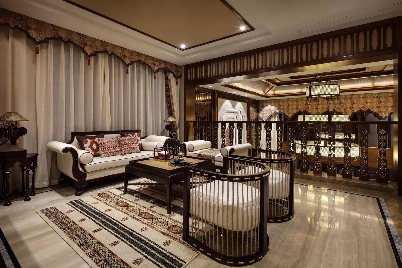合生东郊 别墅装修 泰式风格 腾龙设计 客厅图片来自孔继民在合生东郊别墅 项目装修泰式风格的分享