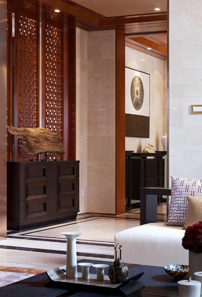 东郊半岛 别墅装修 中式风格 腾龙设计 卧室图片来自腾龙设计在东郊半岛别墅装修中式风格设计的分享