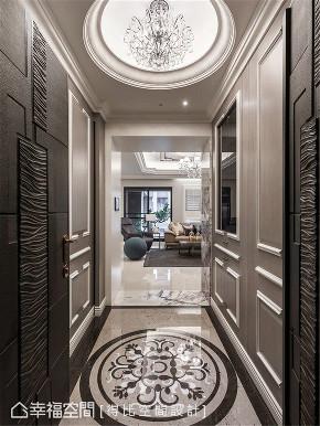 小资 旧房改造 收纳 白领 新古典 大理石 玄关图片来自幸福空间在172平,缔造时尚、清新气质居!的分享