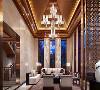 东郊半岛别墅项目装修中式风格设计,上海腾龙别墅设计作品,欢迎品鉴