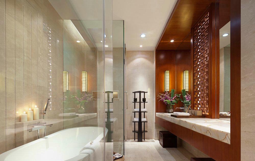 东郊半岛 别墅装修 中式风格 腾龙设计 卫生间图片来自腾龙设计在东郊半岛别墅装修中式风格设计的分享
