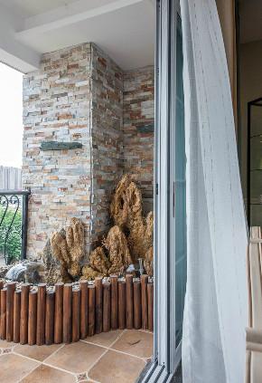 80后 小资 美式 阳台图片来自北京今朝装饰在美式风格案例的分享