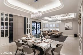 小资 旧房改造 收纳 白领 新古典 大理石 餐厅图片来自幸福空间在172平,缔造时尚、清新气质居!的分享