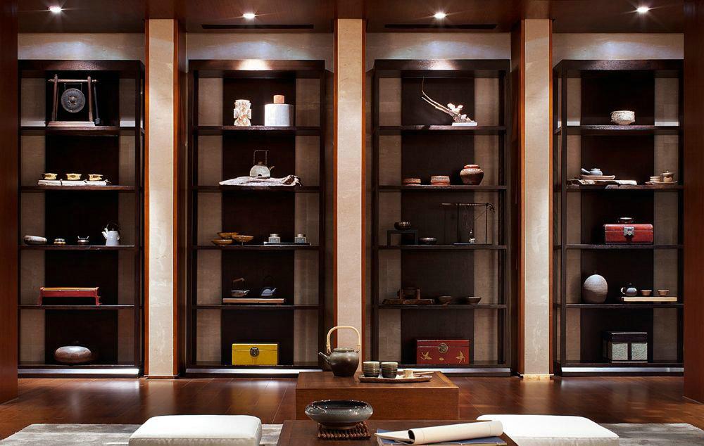 东郊半岛 别墅装修 中式风格 腾龙设计 书房图片来自腾龙设计在东郊半岛别墅装修中式风格设计的分享