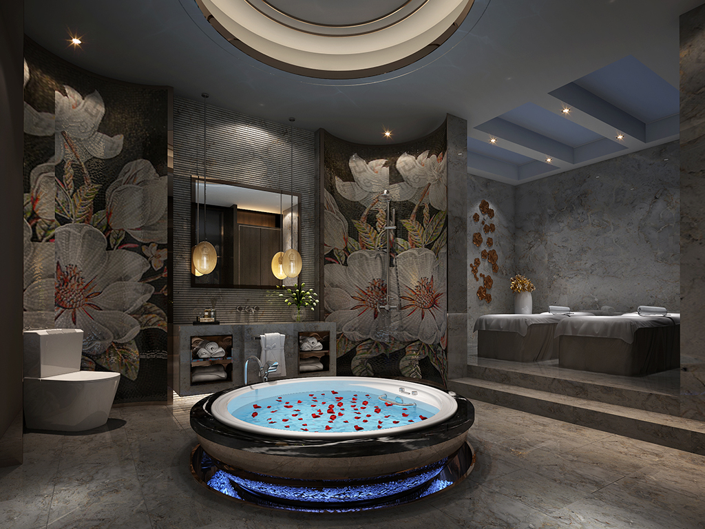 华侨城十号 别墅装修 新古典现代 腾龙设计 餐厅图片来自腾龙设计在华侨城十号院680平别墅设计的分享