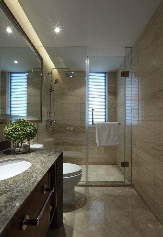 新古典 三居 四居 大户型 跃层 复式 80后 小资 卫生间图片来自高度国际姚吉智在172平米新古典主义优雅浪漫的分享