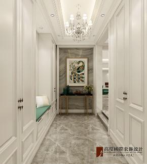 新古典 法式 别墅 跃层 复式 大户型 loft 80后 玄关图片来自高度国际姚吉智在泷悦长安500平米简约法式精致的分享