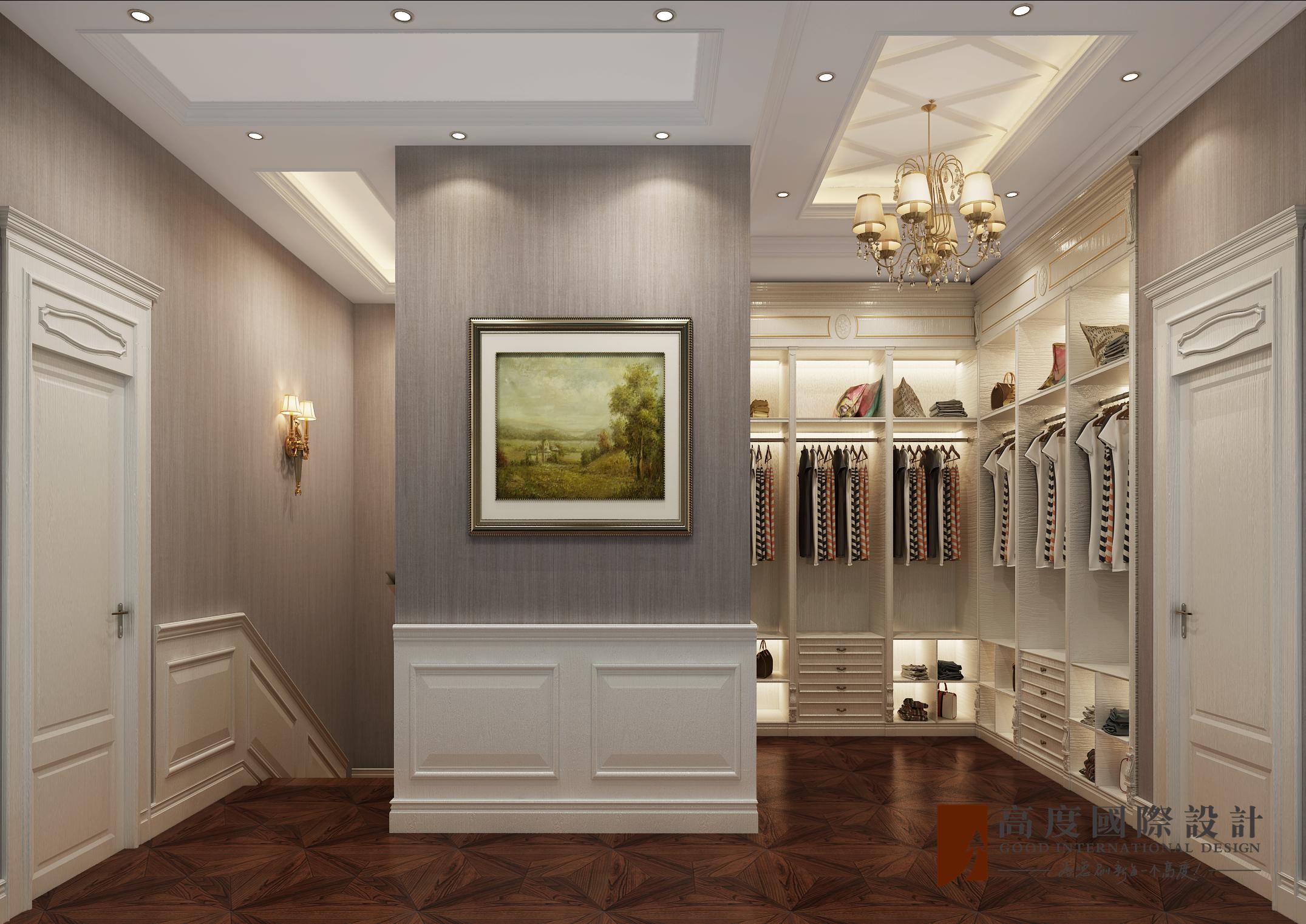 衣帽间图片来自北京高度国际在东亚华欣湾--欧式风格的分享