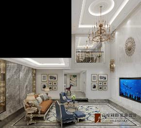 新古典 法式 别墅 跃层 复式 大户型 loft 80后 客厅图片来自高度国际姚吉智在泷悦长安500平米简约法式精致的分享