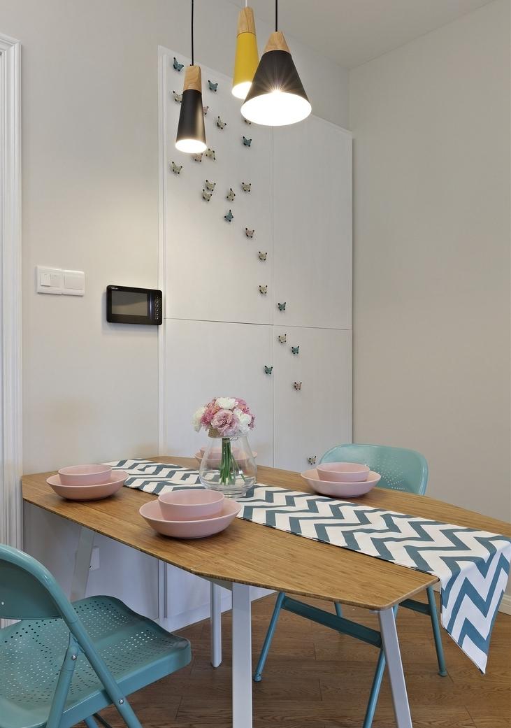 简约 三居 餐厅图片来自言白设计在蝶舞北欧的分享