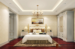 新古典 法式 别墅 跃层 复式 大户型 loft 80后 卧室图片来自高度国际姚吉智在泷悦长安500平米简约法式精致的分享