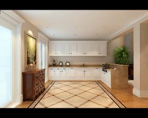 欧式 新古典 别墅 厨房图片来自大业美家 家居装饰在别墅装修设计-欧式新古典的分享