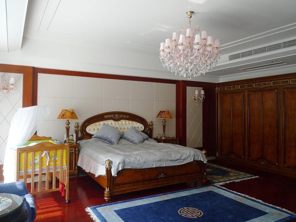 别墅装修 新古典 中式风格 腾龙设计 卧室图片来自孔继民在别墅装修中式风格完工实景展示!的分享