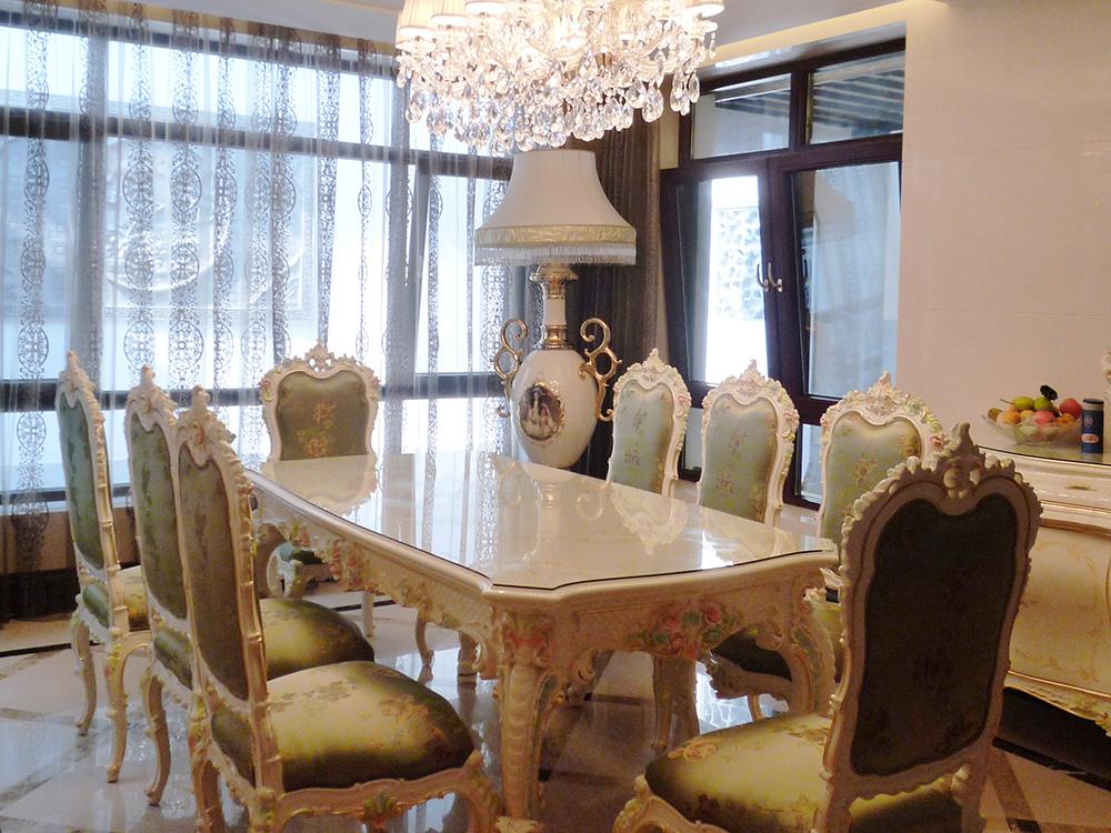 别墅装修 新古典 中式风格 腾龙设计 餐厅图片来自孔继民在别墅装修中式风格完工实景展示!的分享