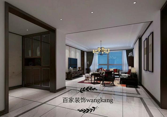三居 江湾城 中式风格 客厅图片来自百家设计小刘在保利达江湾城138平中式风格的分享
