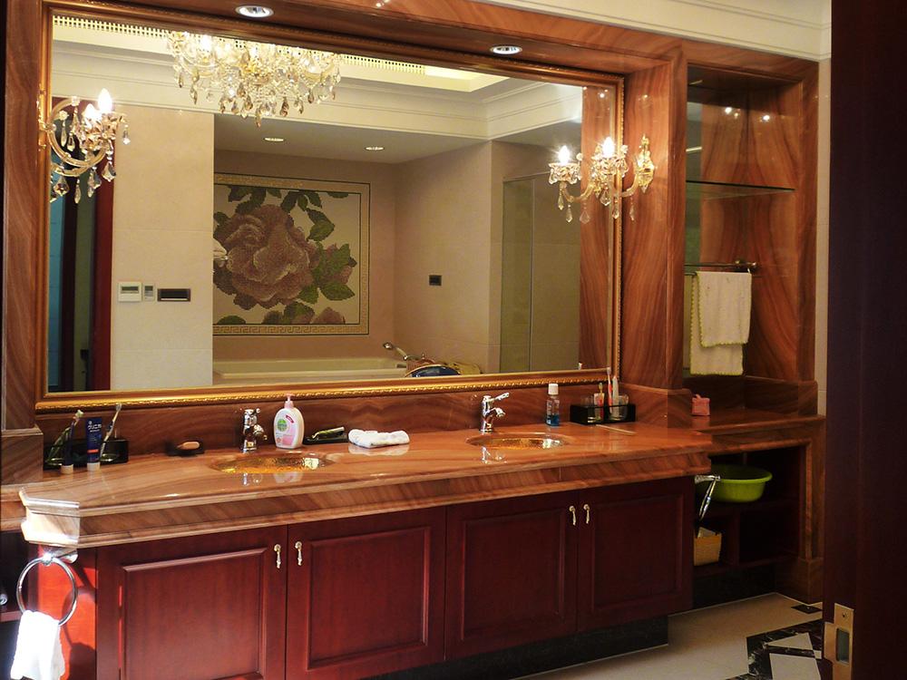 别墅装修 新古典 中式风格 腾龙设计 卫生间图片来自孔继民在别墅装修中式风格完工实景展示!的分享
