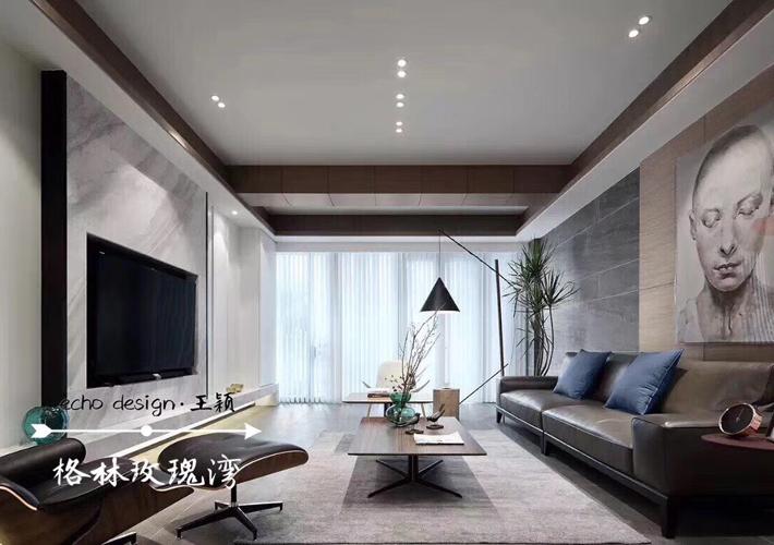 四居 格林玫瑰湾 港式风格 客厅图片来自百家设计小刘在格林玫瑰湾168平港式风格的分享