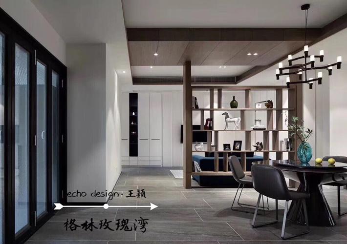 四居 格林玫瑰湾 港式风格 餐厅图片来自百家设计小刘在格林玫瑰湾168平港式风格的分享