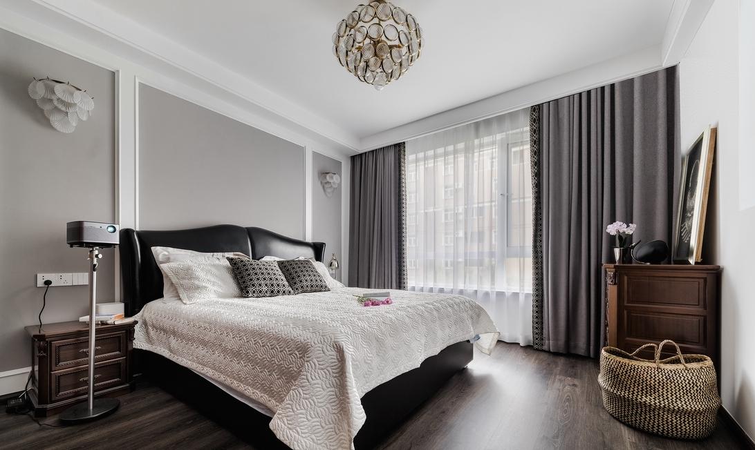 卧室图片来自言白设计在城市的分享