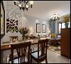 紫苹果装饰城南都市家园89平米现代简约风格装修案例  本案例工程造价为6万 本方案以现代简约为设计风格,以简洁的表现形式来满足人们对空间环境那种感性的、本能的和理性的需求
