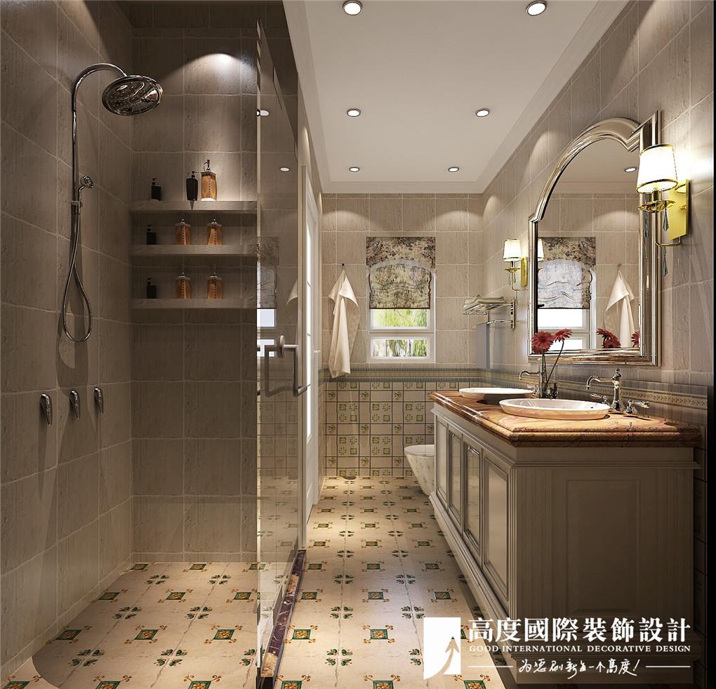 卫生间图片来自北京高度国际在大运河孔雀城---美式恬静的分享