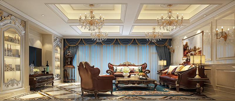 别墅装修 欧式古典 腾龙设计 书房图片来自孔继民在浩润苑 别墅装修欧式古典风格的分享