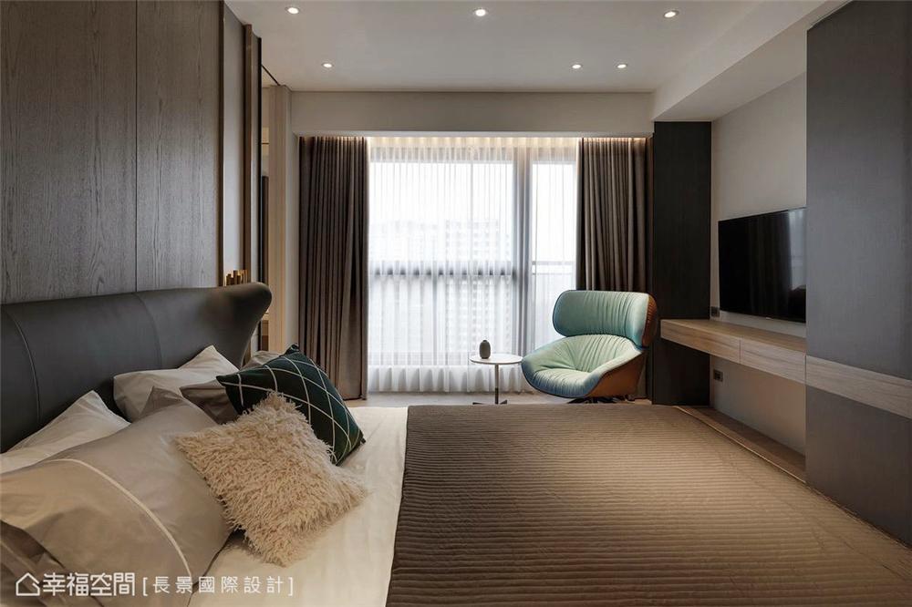 简约 小资 80后 旧房改造 收纳 白领 休闲多元 卧室图片来自幸福空间在漫. 拾光|175平,隔楼上的卧室的分享