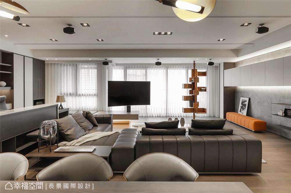 简约 小资 80后 旧房改造 收纳 白领 休闲多元 客厅图片来自幸福空间在漫. 拾光 175平,隔楼上的卧室的分享