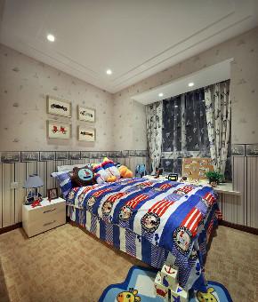 欧式 三居 四居 大户型 复式 跃层 白领 80后 小资 儿童房图片来自高度国际姚吉智在150平米欧式品质优雅之家的分享
