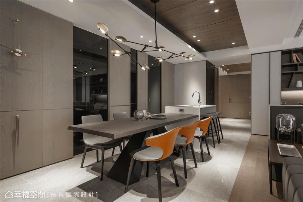 简约 小资 80后 旧房改造 收纳 白领 休闲多元 餐厅图片来自幸福空间在漫. 拾光|175平,隔楼上的卧室的分享