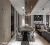 明朗格局 长景设计适度缩减厨房空间,放大公卫浴尺寸与书房柜体切齐水平轴线,拉阔方正格局,形构明朗空间感。