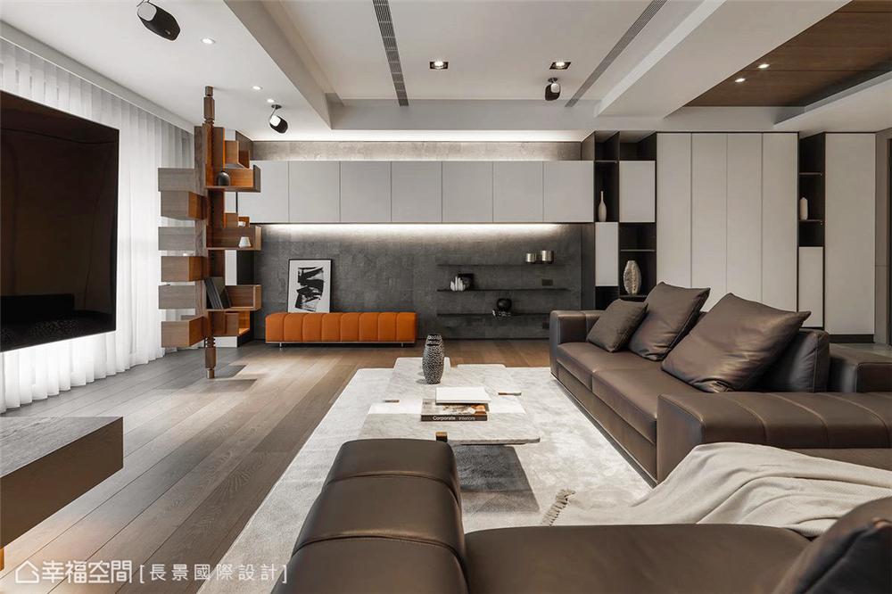 简约 小资 80后 旧房改造 收纳 白领 休闲多元 客厅图片来自幸福空间在漫. 拾光|175平,隔楼上的卧室的分享