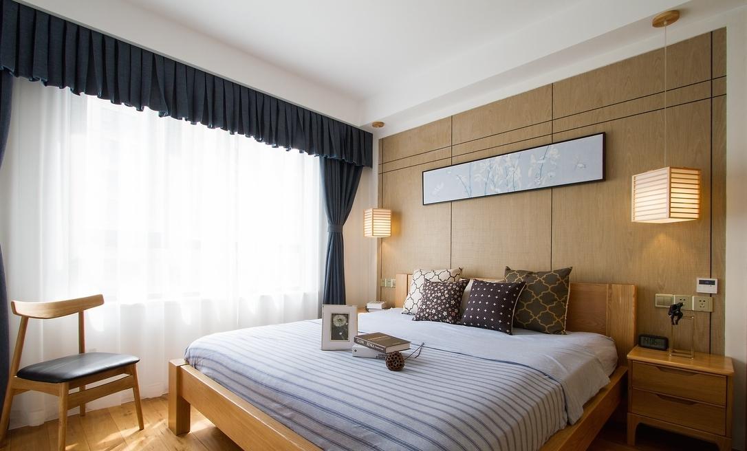 简约 卧室图片来自言白设计在和式风格的分享